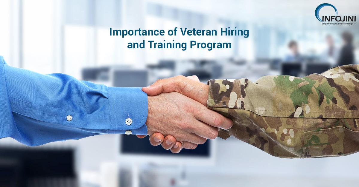 importance of veteran hiring and training program