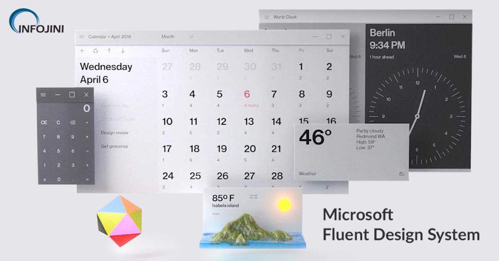 Microsoft Fluent Design Guidelines