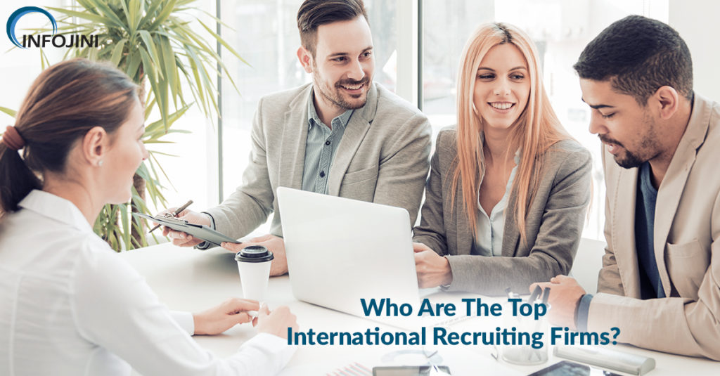 Finding the right international recruiting firms