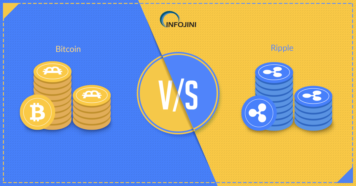 The War of Cryptocurrencies - Bitcoin vs Ripple