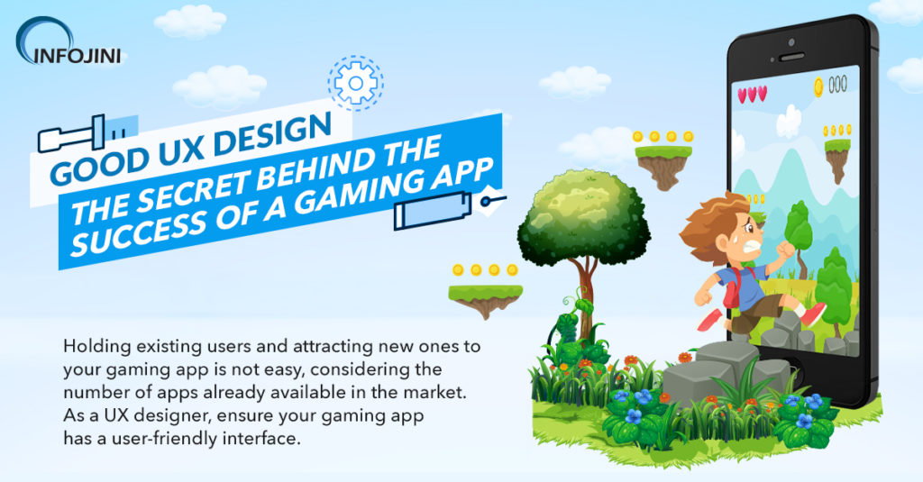 UX Design Tips for Gaming App