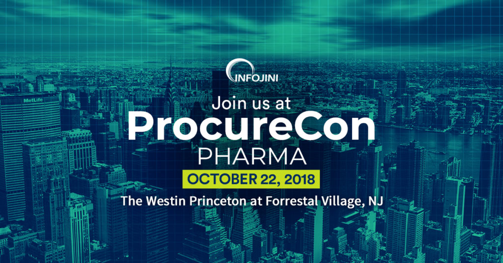 See you at ProcureCon Pharma 2018