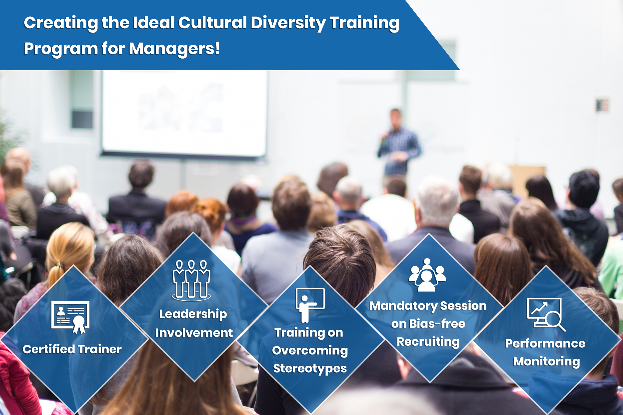Cultural diversity training taking place