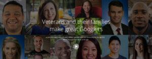 Veteran Hiring Google
